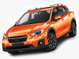 crosstrek subaru orange subaru xv crosstrek 3d model 1147345 turbosquid