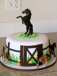 horse jumping birthday cake google search celebrations