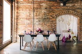 local wedding reception venues best ta bay modern industrial brick wedding venues cl space ybor