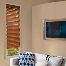 Custom Roman Shades Lowes - levolor visions 2 faux wood blinds throughout at lowes