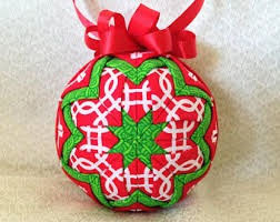 quilted ornament etsy