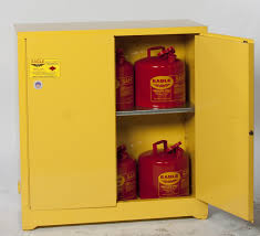 Yellow Flammable Storage Cabinet Eagle 1932 Flammable Storage Cabinet 30 Gal Manual