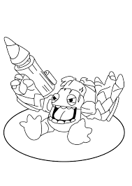 skylander printable coloring pages skylanders spyrous adventure