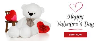 valentine s huge adorable romantic valentine s day teddy bears 2 6ft tall