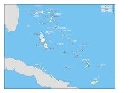 Bahama Islands Map Bahamas Free Map Free Blank Map Free Outline Map Free Base Map