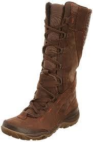 womens boots tu merrell dewbrook peak waterproof s boots brown shoes