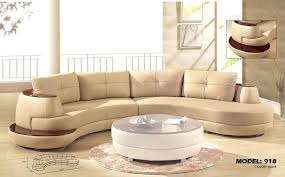 Curved Sectional Sofa Curved Leather Sofa Small Leather Sectional U Shaped
