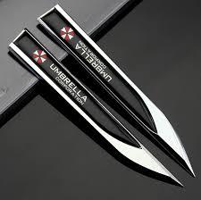 lexus gx470 chrome emblem amazon com champled 2pcs car auto truck chrome metal decal