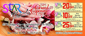 special offer from star nails on ridge pike in conshohocken