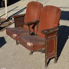 Antique Furniture In Northwest Indiana I Always Loved The Idea Of Vintage Theater Seats For Home Seating
