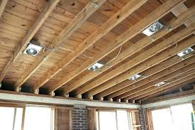 installing can lights in ceiling can lights for drop ceiling for how to put pot lights in a drop
