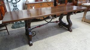 french spanish style dining table french antiques melbourne