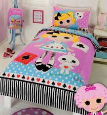 Bubble Guppies Toddler Bedding by Lalaloopsy Alice In Lalaloopsyland Single Twin Size Quilt Cover