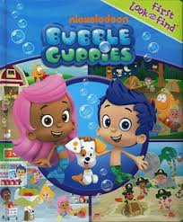 bubble guppies book nick jr paperback