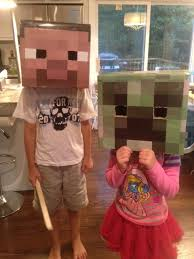 Minecraft Halloween Costume How To Make Diy Minecraft Steve U0026 Creeper Halloween Costumes
