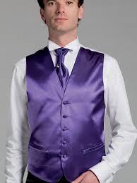 gilet mariage gilet costume satin violet à 59 00