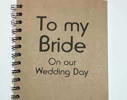 wedding gift journal journal etsy