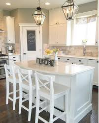 island for kitchen with stools instagram post by jayme fridley fridleyhomes design stools