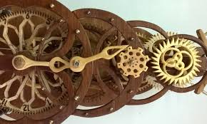 handmade wooden clock youtube