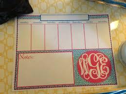 Weekly Desk Pad Miss Em Prints