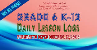 new ready made 2017 daily lesson logs dll for k 12 grade 6