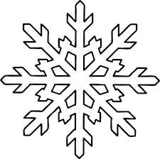printable snowflake template for chocolate coloring pages kids