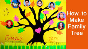 family tree for kids project how to make your own simple family