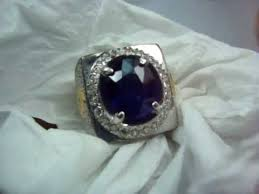 model cincin blue safir blue sapphire ceylon