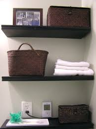 Wicker Shelving Bathroom Wicker Corner Shelf Unit Cabinets For Bathroom With Chrome Vase On