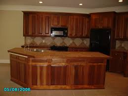 Red Mahogany Kitchen Cabinets Plush Mahogany Cabinets For Retro Kitchen Accent Ideas Furniture