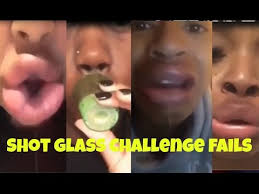 Challenge Fail Compilation Best Of Jenner Lip Challenge Fail Compilation Glass