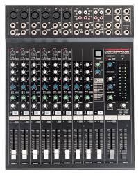 cvm 1224fxusb cerwin vega professional audio mixer
