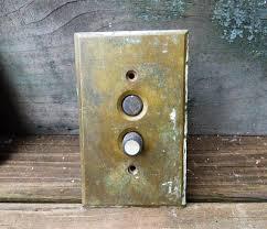 restoration hardware light switch plates antique push button electrical light switch brass plate lighting