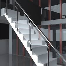 stainless steel glass railing at rs 1200 square feet s ss