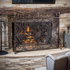 christopher home wilmington fireplace screen free