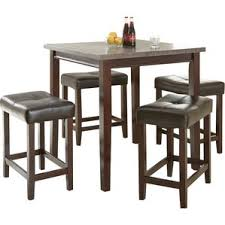 Dining Room Sets With Matching Bar Stools Counter Height Dining Sets You U0027ll Love Wayfair