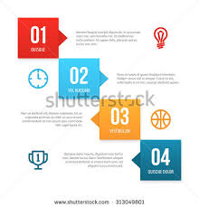 tick shaped vector infographic layout isolated stock vector