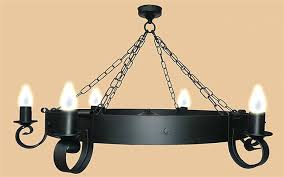 Wrought Iron Chandelier Uk Black Iron Ceiling Light With Simple 6 Wrought And 2 Svlt241550198