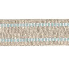 blue and white striped ribbon 1 1 2 wired burlap stripe edge ribbon light blue white