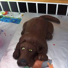 birthday cake shaped like a dog dogs cake art soo cute