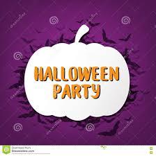 happy halloween calligraphy halloween banner stock vector