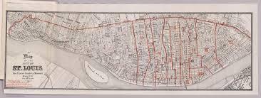 St Louis Mo Map Townland Of Origin U S Census Series Ward 2 St Louis