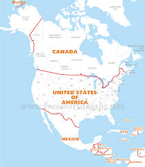 Physical Map Of Alaska by Physical Map Of North America For N Roundtripticket Me