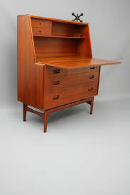 Mid Modern Furniture Stunning Mid Century Original Danish Drop Down Desk Cabinet