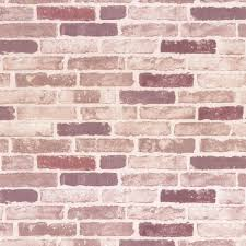 erismann brix traditional red brick effect wallpaper style