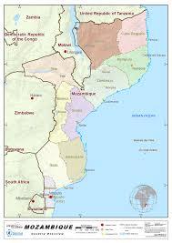 Mozambique Map 1 Mozambique Country Profile Logistics Capacity Assessment