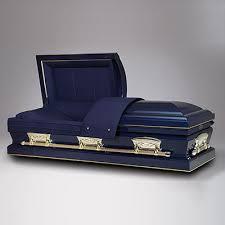 matthews casket freedom midnight blue 18 hansen mortuaries