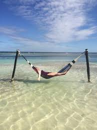 hammock in water picture of yaya beach bar and restaurant