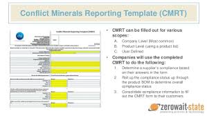conflict minerals reporting template conflict minerals reporting template professional and high