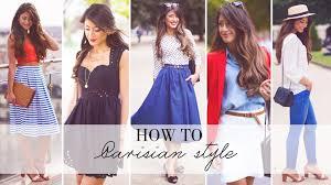how to parisian style youtube